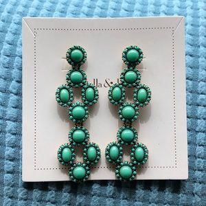 """Jade serenity stone drops"" Stella & Dot"